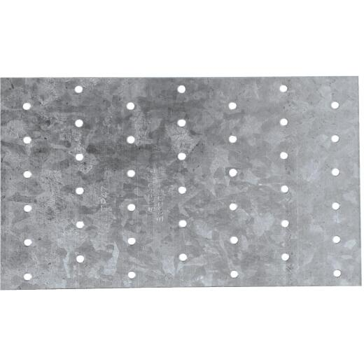 Simpson Strong-Tie 4-1/8 in. W. x 7 in. L. Galvanized Steel 20 Gauge Tie Plate