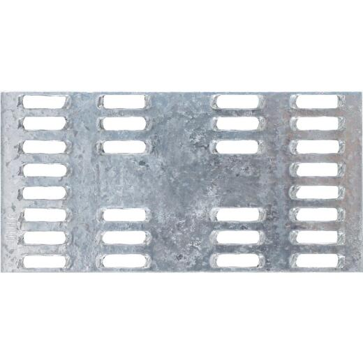 Simpson Strong-Tie 2 in. W x 4 in. L Galvanized Steel 20 Gauge Mending Plate