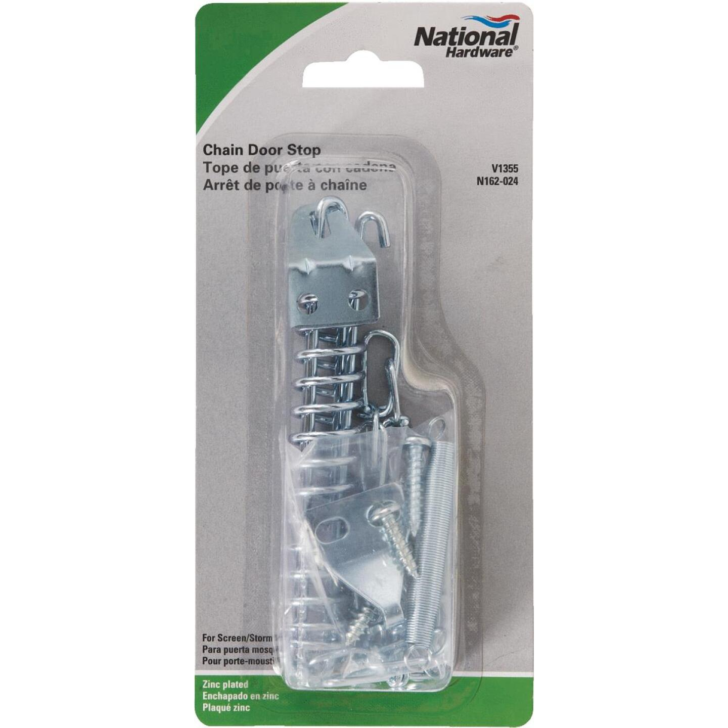 National Screen & Storm Door Stop Spring Chain Image 2