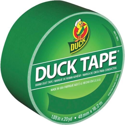 Duck Tape 1.88 In. x 20 Yd. Colored Duct Tape, Green