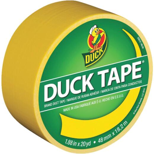Duck Tape 1.88 In. x 20 Yd. Colored Duct Tape, Yellow