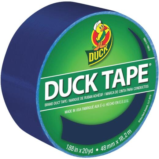 Duck Tape 1.88 In. x 20 Yd. Colored Duct Tape, Blue