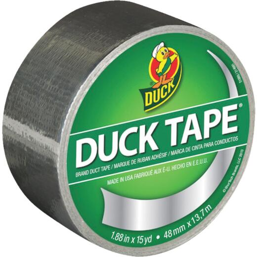 Duck Tape 1.88 In. x 15 Yd. Colored Duct Tape, Chrome
