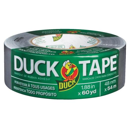 Duck Tape 1.88 In. x 60 Yd. All-Purpose Duct Tape, Gray