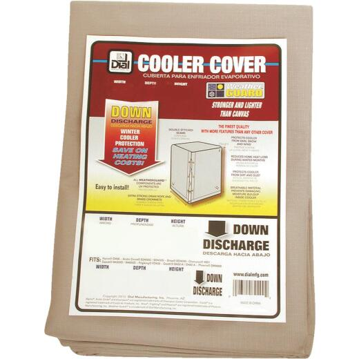 Dial 37 In. W x 37 In. D x 42 In. H Polyester Evaporative Cooler Cover, Down Discharge