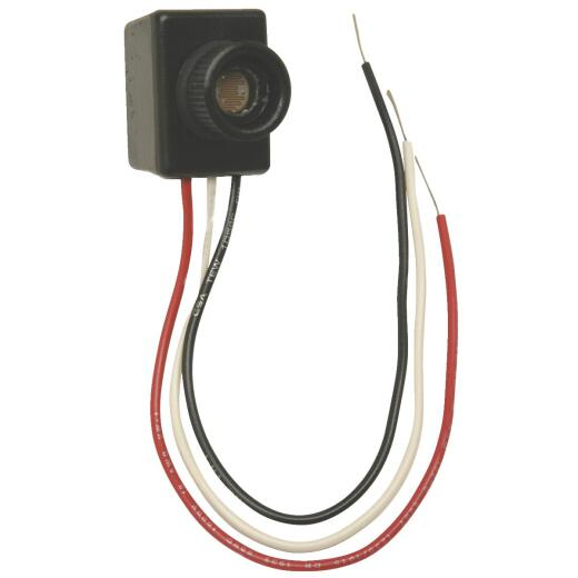 Do it Hard Wire Black Photocell Lamp Post Control