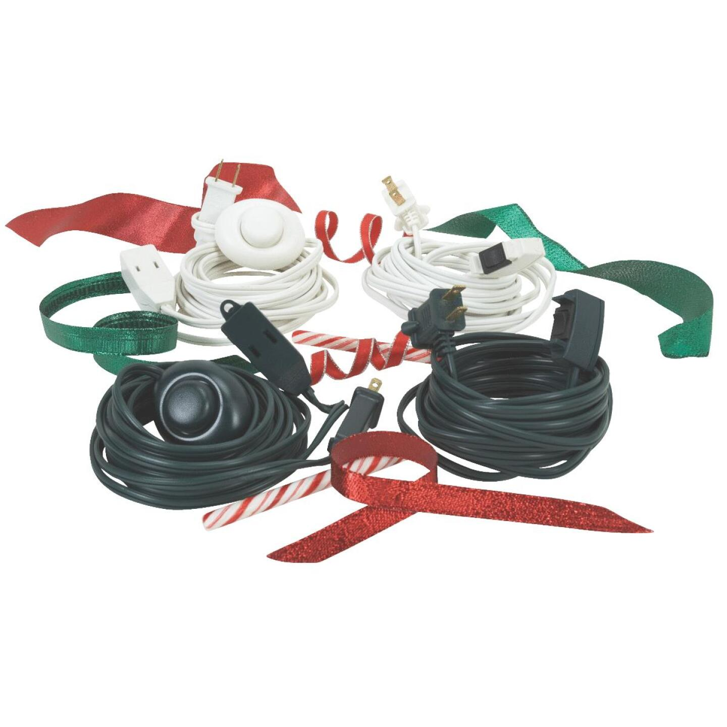 Do it 15 Ft. 16/2 White Extension Cord with Switch Image 2