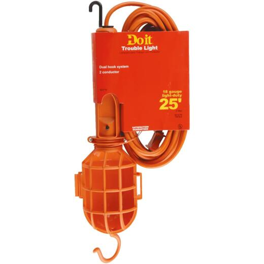 Do it 75W Incandescent Trouble Light with 25 Ft. Power Cord