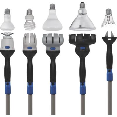 Unger Universal Bulb Changer Kit with 11 Ft. Pole