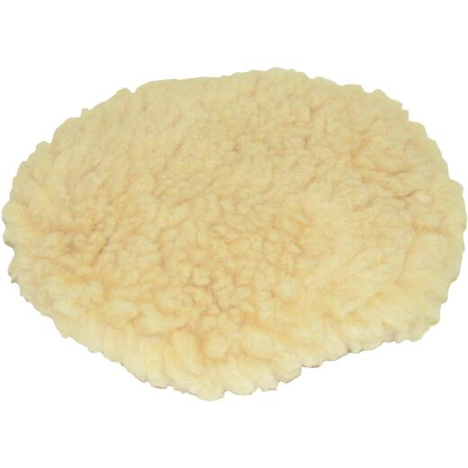 "Auto Spa 7"" To 8"" Washable Wool Polishing Bonnet"