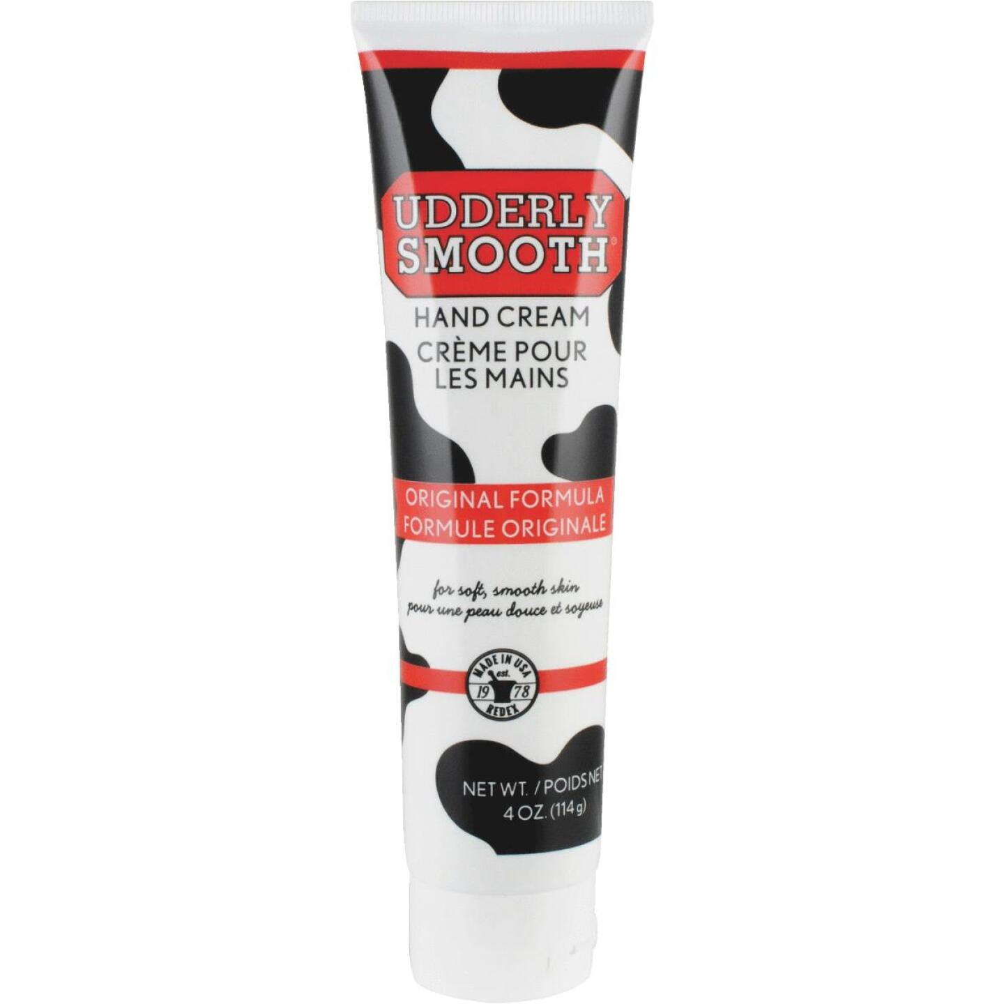Udderly Smooth 4 Oz. Tube Udder Cream Lotion Image 1