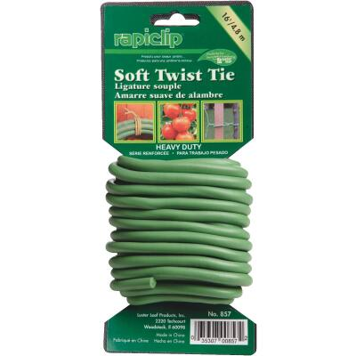 Rapiclip 16 Ft. Green Heavy-Duty Soft Wire Twist Ties