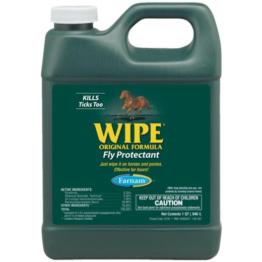 Farnam Wipe 32 Oz. Ready To Use Fly Spray Protectant