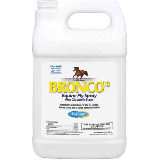 Farnam Bronco-e 128 Oz. Ready To Use Equine Fly Spray