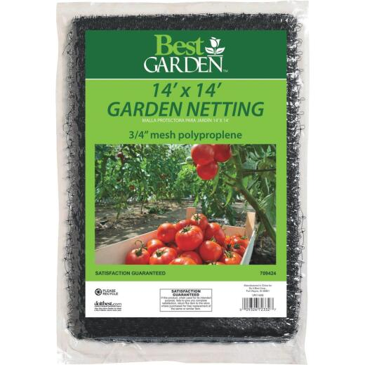 Best Garden 3/4 In. Mesh 14 Ft. x 14 Ft. Protective Garden Netting