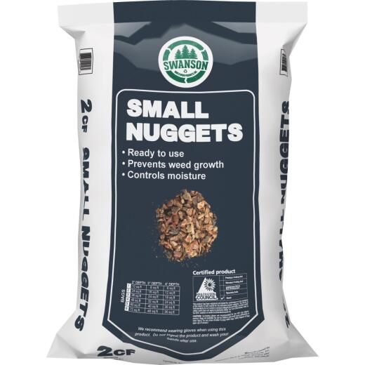NuLife 2 Cu. Ft. Small  Bark Nuggets