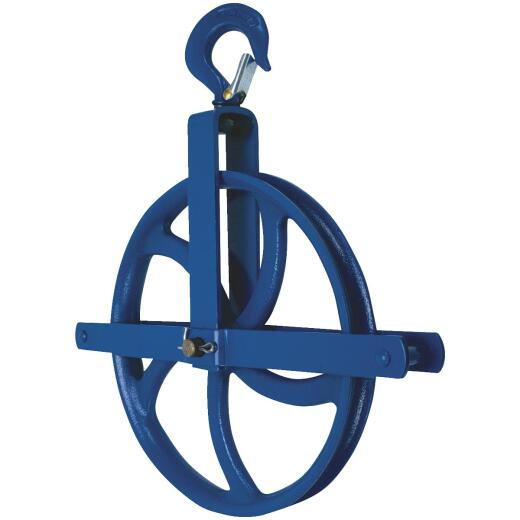 Campbell 12 In. Dia. 1/2-Ton Load Capacity Gin Wheel