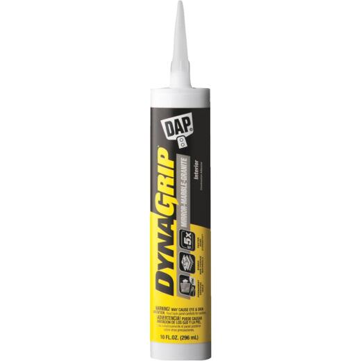 DAP DYNAGRIP 10 Oz. Mirror-Marble-Granite Construction Adhesive