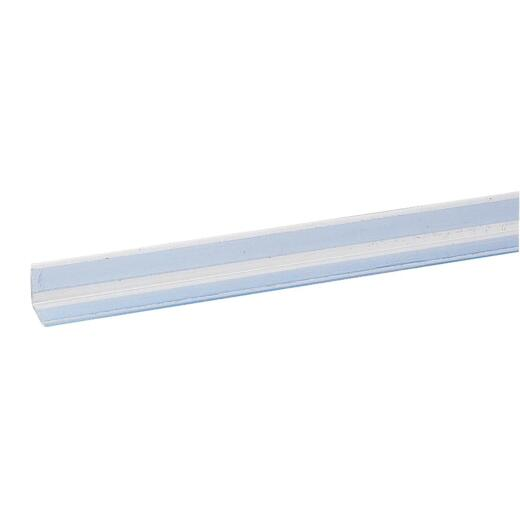 Wallprotex 3/4 In. x 4 Ft. Clear Self-Adhesive Corner Guard