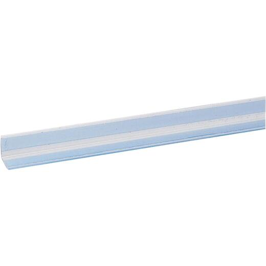 Wallprotex 1-1/8 In. x 4 Ft. Clear Self-Adhesive Corner Guard