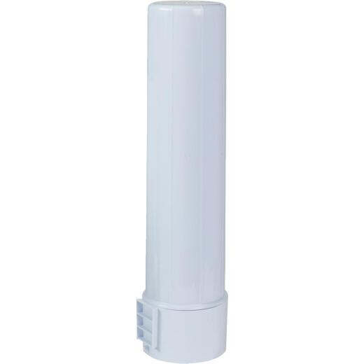 Rubbermaid White Plastic Water Jug Cup Dispenser
