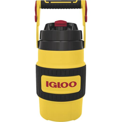 Igloo 80 Oz. Yellow Non-Slip Grip Industrial Water Jug