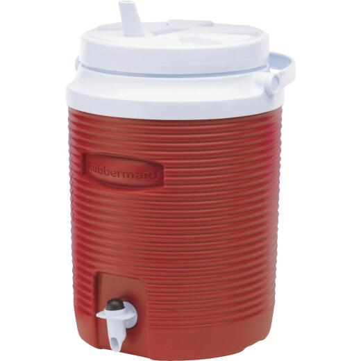 Rubbermaid Victory 2 Gal. Red Water Jug