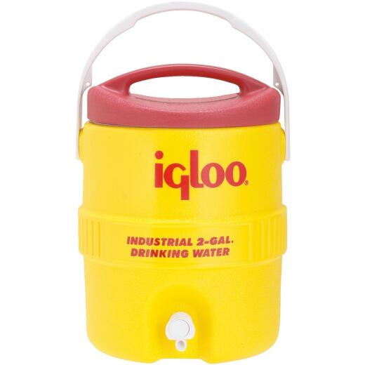 Igloo 2 Gal. Yellow Industrial Water Jug